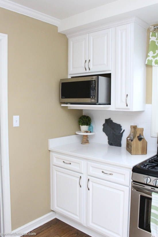 The Best Microwave Height Built In Microwave Cabinet Kitchen