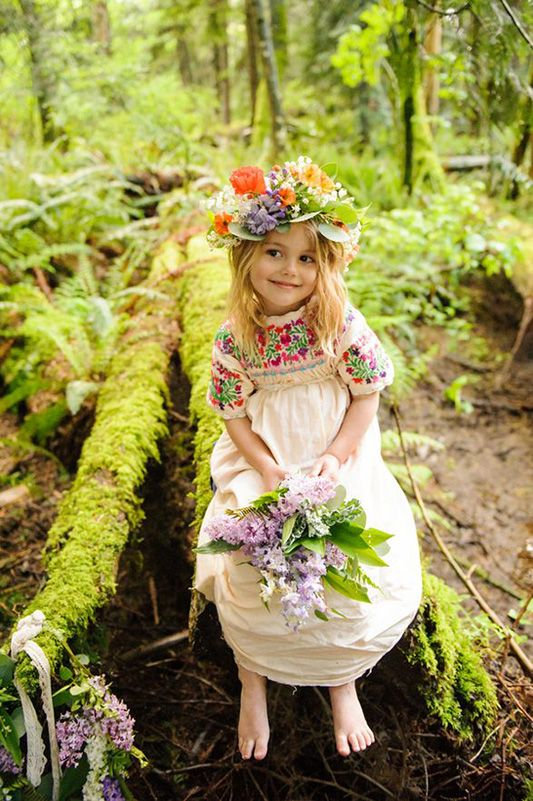 festival brides || let them be little: mini maid style: