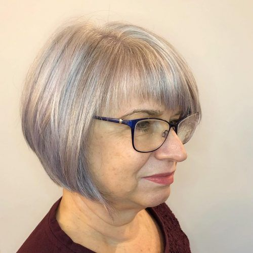 42+ Short bob hairstyles for fine hair over 60 ideas in 2021