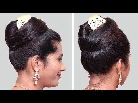 6 Quick And Easy Juda Hairstyle With Bun Hairstyle Hairstyles Hair Style Girl Cute Hairstyles Youtube In 2020 Bun Hairstyles Competition Hair Cute Hairstyles