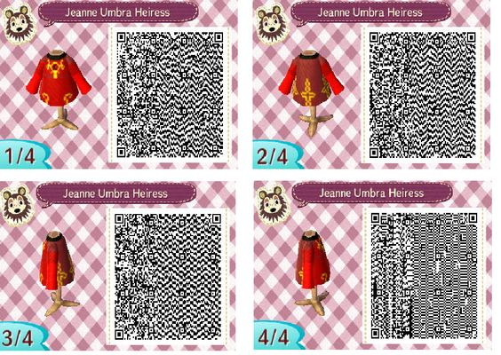 Jeanne From Bayonetta S Ancient Outfit Animal Crossing Qr