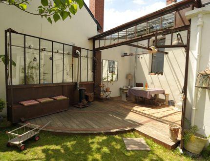 Ouverte ou ferm e photos interieur et v randas - Veranda ouverte terrasse ...