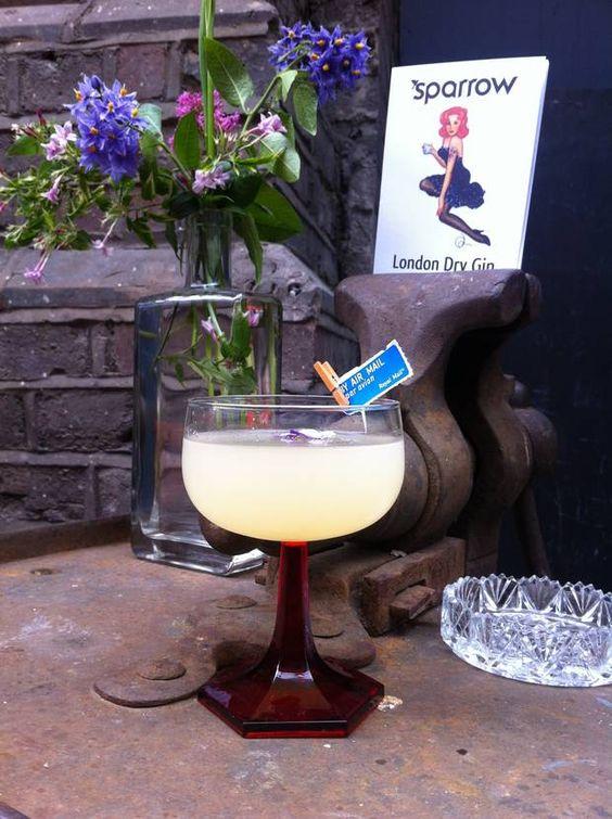 Maltby Street Market: Sparrow gin's pretty pop-up bar under the railway arches