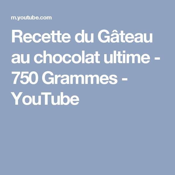 Gateau au chocolat ultime 750 grammes