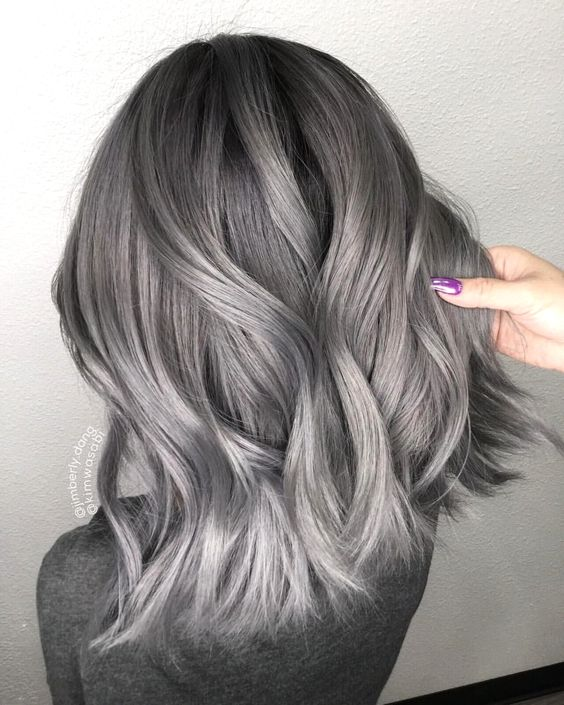 silver ash hair color