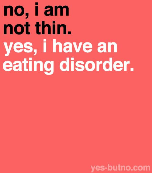 I'm writing a research paper on eating disorders.. is this a good thesis?