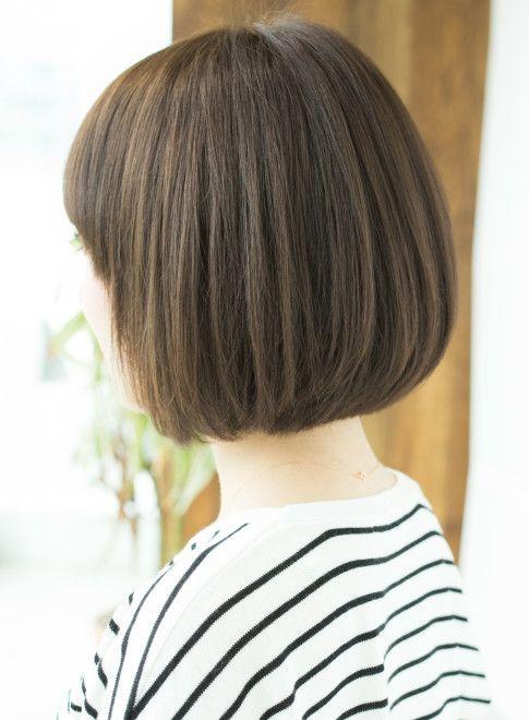 ボブ 好感度up愛されボブ 縮毛矯正にも Afloat Japanの髪型 ヘア