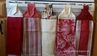 Dishtowels without crocheted tops