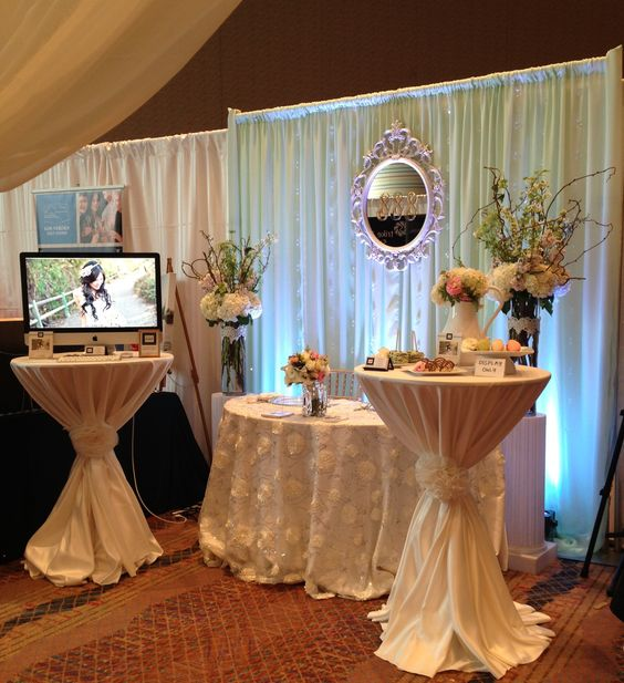 What Is A Wedding Fair: Lace Tablecloth With Burlap Tie