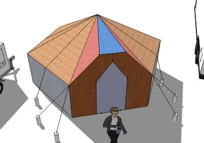 Hexagon cupola roof plans octagon octagonal google for Roof cupola plans