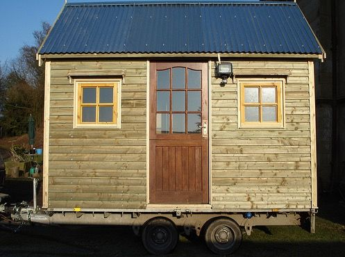 Shed On Wheels Shed Tiny House Design Eco House