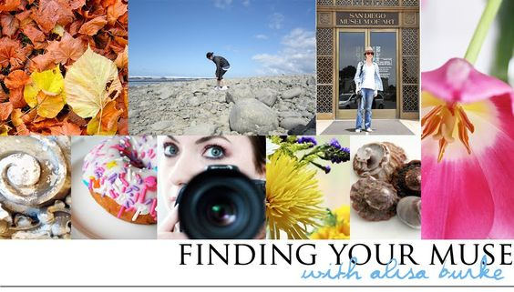 """""""Finding Your Muse"""", free online class by Alisa Burke"""