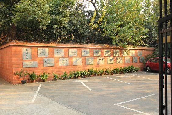 好家伙!满墙的领导人题字牌匾,这能证明国家对少年儿童的关心。