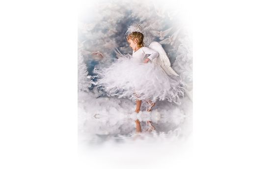 Winter Fairies Children's Theme Set. Includes backdrop, costumes, props, images for advertising, lighting diagrams, posing tips, and all the photoshop info to make the magic happen $1,800
