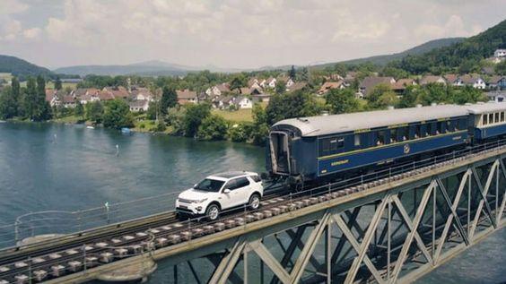 La prueba ha sido realizada por el Discovery Sport sin más modificaciones que unas ruedas de ferrocarril para guiarle. Es la segunda vez que se hace esto.