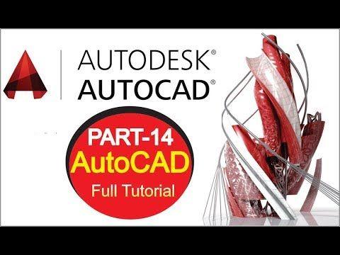 Autocad Tutorial Video Hindi Part 14 Autocad Tutorial Course Complete Be Autocad Autocad Tutorial Helpful Hints