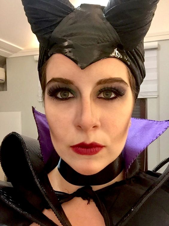 Malévola. Maleficent. Halloween. Make up.