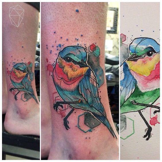 watercolour tattoos dublin - Google Search