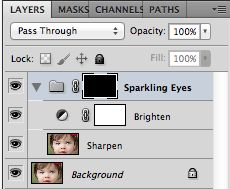 How to Make Eyes Sparkle in Photoshop {Plus a FREE Action!} | Polished Picture