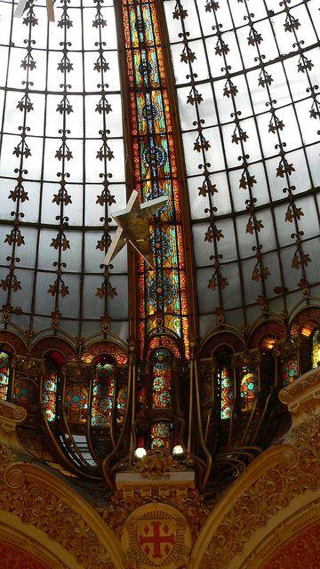 Galeries Lafayette, Paris - ceiling