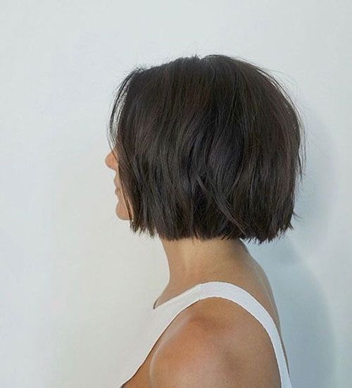10 Short Bob Haircut For Thick Hair Bob Modelleme