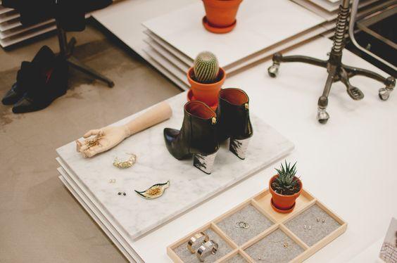 Freunde von Freunden — Sara Hildén Bengtsson — Creative Director, & Other Stories atelier, Kungsholmen, Stockholm — http://www.freundevonfreunden.com/workplaces/sara-hilden-bengtsson/