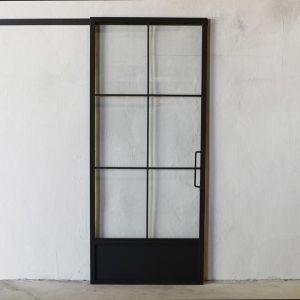 French Panel Barn Door In 2020 Sliding Doors Internal Sliding Doors Doors