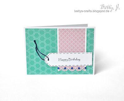 Bettys Crafts: Happy Birthday - die fünfte (2013)