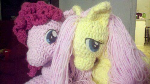 Pinkie Pie and Shutterfly Lookalikes | #Crochet