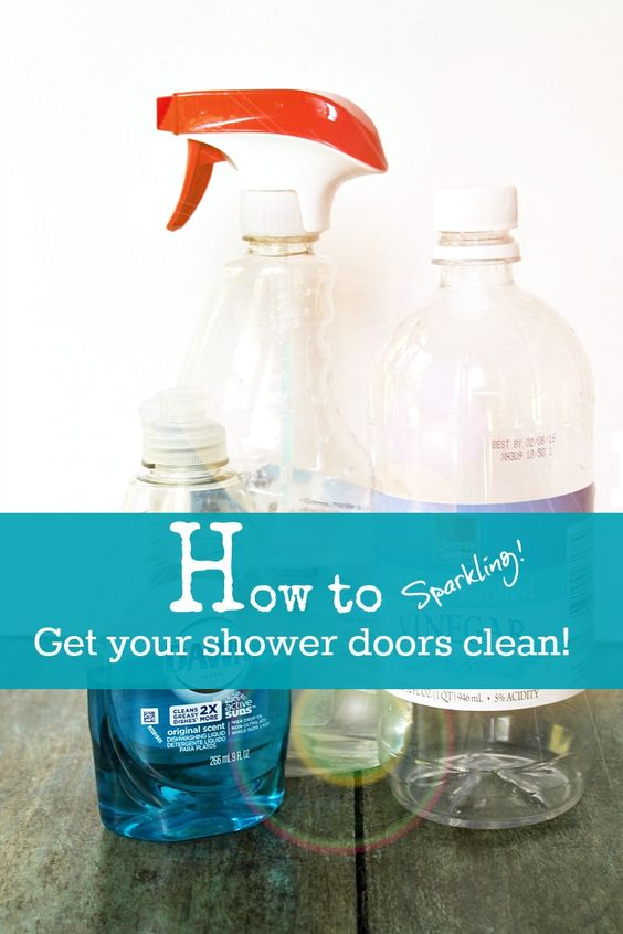 Shower Doors Sprays And How To Get On Pinterest