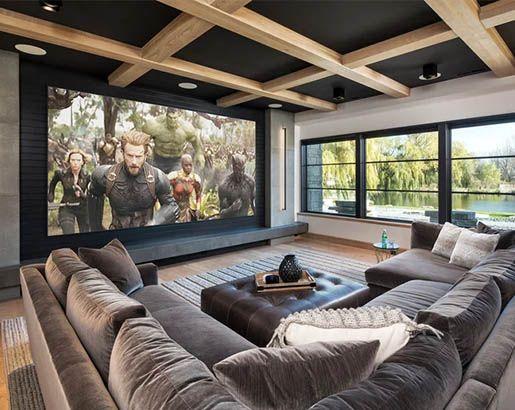 31 Home Theater Ideas | Sebring Design Build | Design Trends