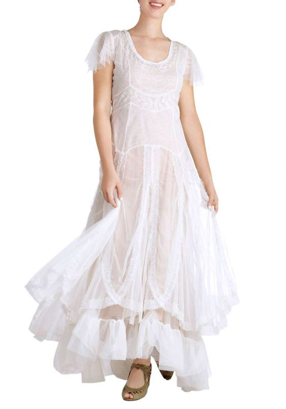 ModCloth Fairy Important Date Dress in White #Inspiration #Halloween