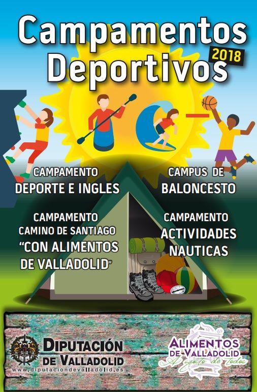 Campamentos Deportivos 2019 De La Diputación De Valladolid Deportes Actividades Infantiles Actividades