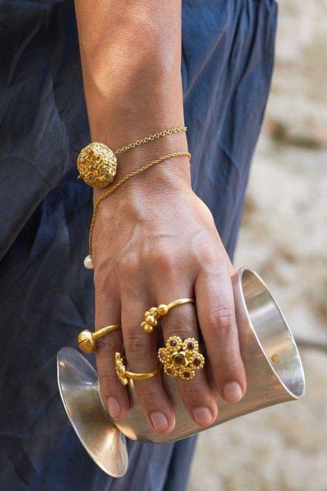 ♛Les bijoux Borgia de Pippa Small | DailyELLE