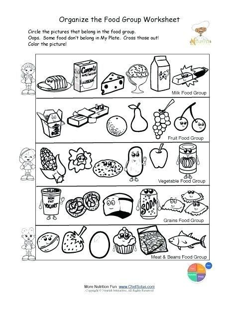 - Free Educational Printables Free Preschool Coloring Pages Alphabet - Saines  Group Meals, Food Pyramid, Worksheets For Kids