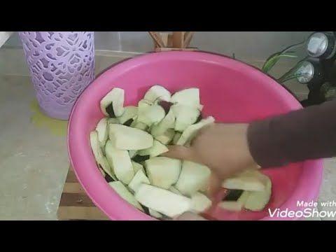 معلقه صغيرة علي الباذنجان وعمره ما هيشرب زيت وشوفوا طريقتي في قلي الباذنجان بدون نقطه زيت واحده Youtube Cooking Food Vegetables