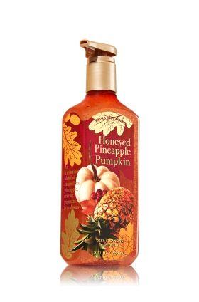 Honeyed Pineapple Pumpkin Deep Cleansing Hand Soap Bath Body