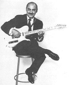 The great Joe Pass playing a Telecaster
