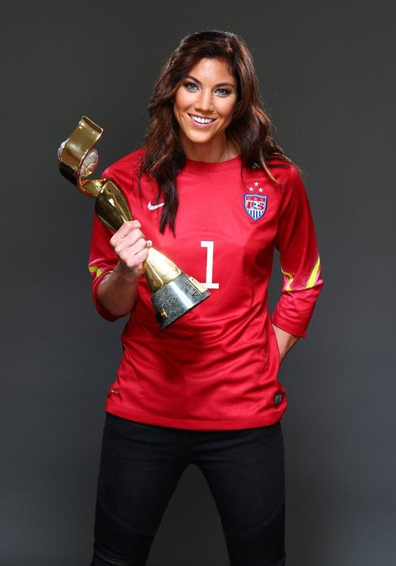 Hope Solo | SI's U.S. Women's World Cup title cover shoot - The Outtakes - SI.com