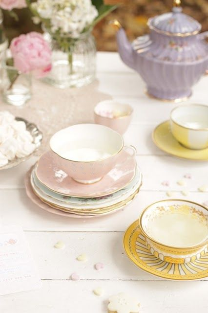 Tea Party: Tea Party, Tea Pot, Tea Parties, Pretty Pastel, Teacup