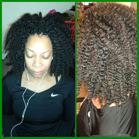Crochet Braids Grow Hair : Crochet braids marley hair, Marley hair and Crochet braids on ...