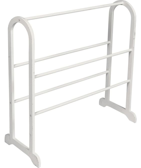 Buy HOME Contemporary Wooden Towel Stand - White at Argos.co.uk - Your Online Shop for Towel rails and rings.