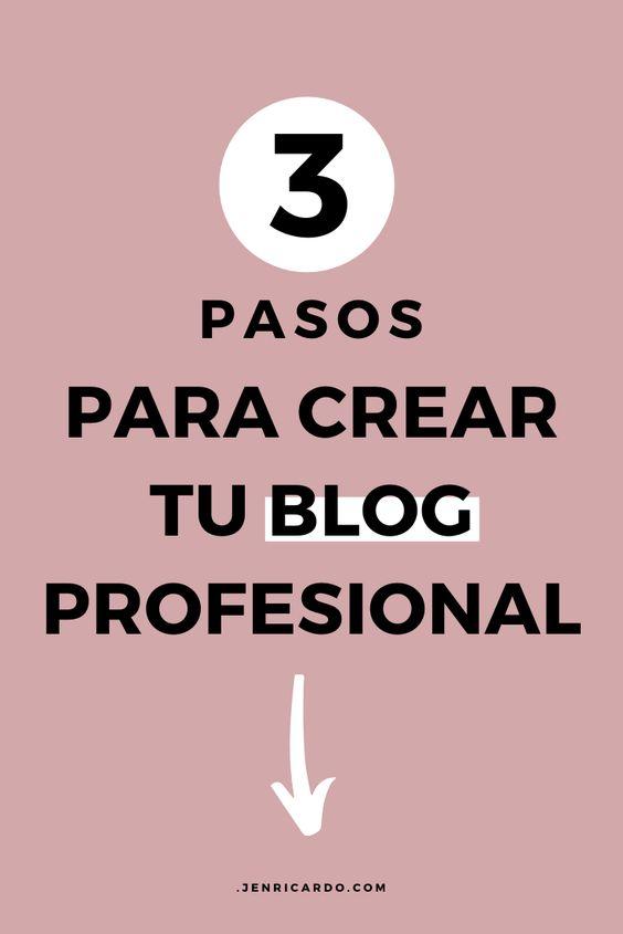 Como crear un blog desde cero, como un profesional.