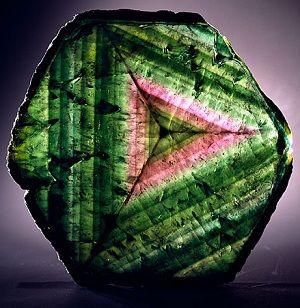 Watermelon Tourmaline (slice):