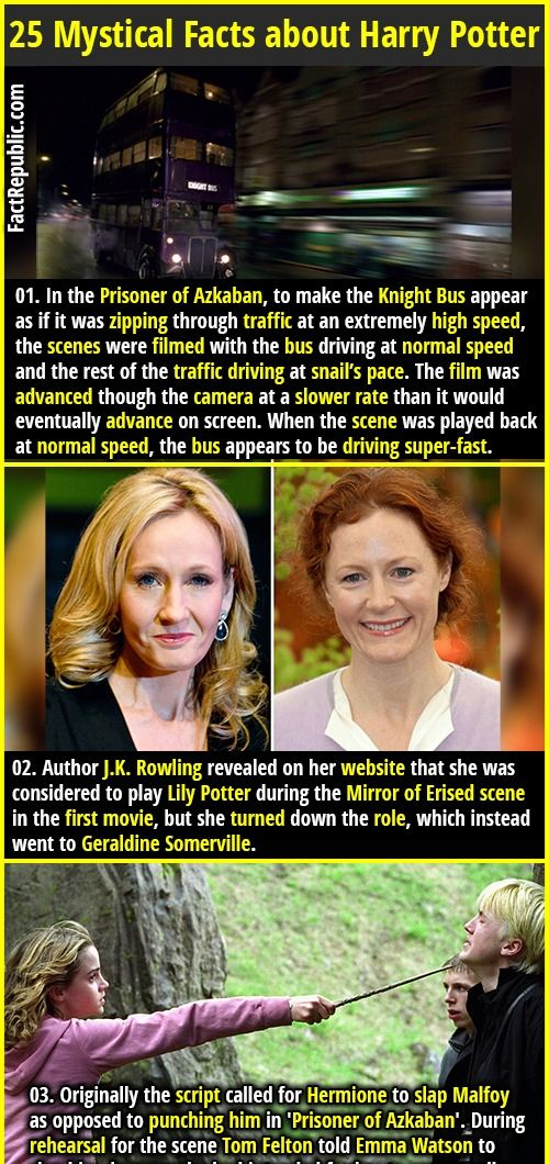 25 Mystical Facts About Harry Potter Books And Movies Part 3 Fact Republic Harry Potter Facts Harry Potter Books Harry Potter Obsession