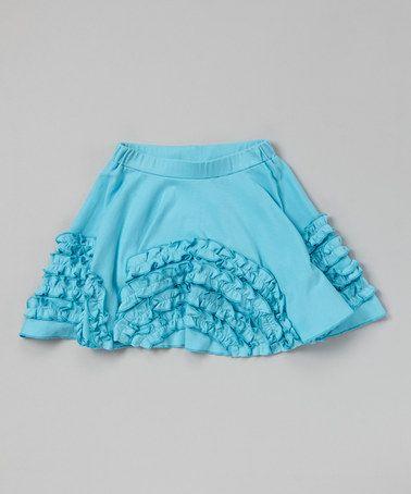 Another great find on #zulily! Bachelor Button Arch Ruffle Skirt - Toddler & Girls #zulilyfinds
