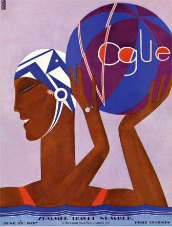 Vogue Cover, June 1927  Eduardo Garcia Benito