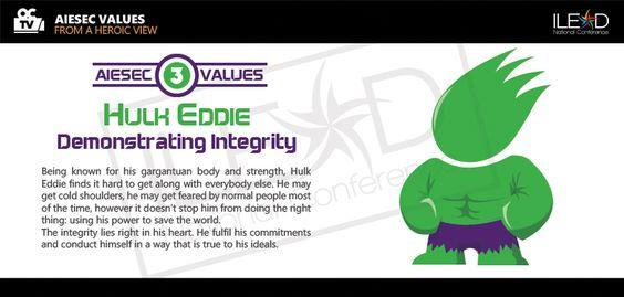 AIESEC Vietnam ILEAD 2013 - Hulk Eddie - Demonstrating Integrity