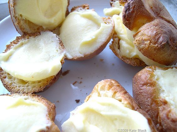 Popovers filled with Vanilla Pudding | Recipes ~ Popovers | Pinterest ...