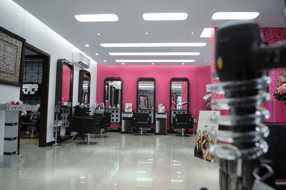 Beauty salon hd design visualization pinterest for A creative touch beauty salon
